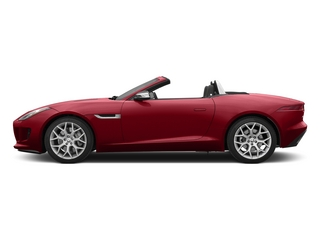 Italian Racing Red 2015 Jaguar F-TYPE Pictures F-TYPE Convertible 2D V6 photos side view