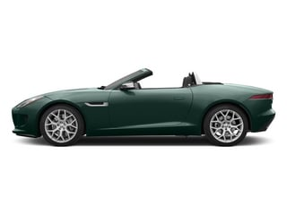 British Racing Green 2015 Jaguar F-TYPE Pictures F-TYPE Convertible 2D V6 photos side view
