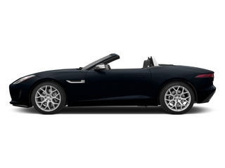 Dark Sapphire Metallic 2015 Jaguar F-TYPE Pictures F-TYPE Convertible 2D V6 photos side view