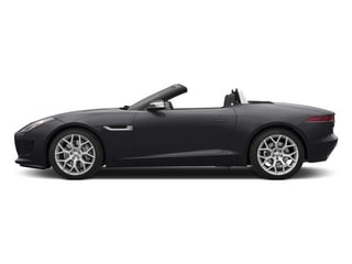 Stratus Gray Metallic 2015 Jaguar F-TYPE Pictures F-TYPE Convertible 2D V6 photos side view
