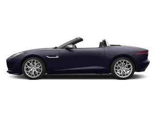 Black Amethyst Metallic 2015 Jaguar F-TYPE Pictures F-TYPE Convertible 2D V6 photos side view