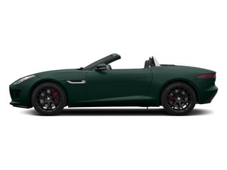 British Racing Green 2015 Jaguar F-TYPE Pictures F-TYPE Convertible 2D S V6 photos side view