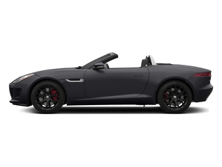 Stratus Gray Metallic 2015 Jaguar F-TYPE Pictures F-TYPE Convertible 2D S V6 photos side view