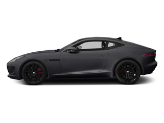Stratus Gray Metallic 2015 Jaguar F-TYPE Pictures F-TYPE Coupe 2D S V6 photos side view