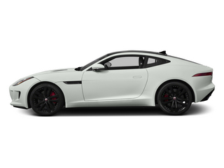 Polaris White 2015 Jaguar F-TYPE Pictures F-TYPE Coupe 2D S V6 photos side view