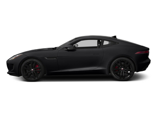 Ebony 2015 Jaguar F-TYPE Pictures F-TYPE Coupe 2D R V8 photos side view