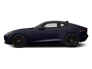 Black Amethyst Metallic 2015 Jaguar F-TYPE Pictures F-TYPE Coupe 2D S V6 photos side view