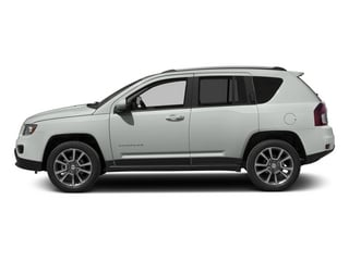 Bright White Clearcoat 2015 Jeep Compass Pictures Compass Utility 4D Limited 4WD photos side view