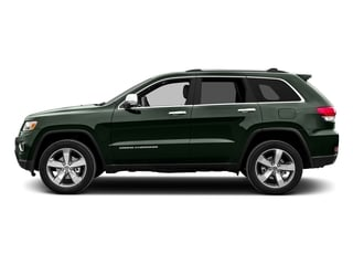Black Forest Green Pearlcoat 2015 Jeep Grand Cherokee Pictures Grand Cherokee Utility 4D Limited 4WD photos side view