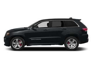 Maximum Steel Metallic Clearcoat 2015 Jeep Grand Cherokee Pictures Grand Cherokee Utility 4D SRT-8 4WD photos side view