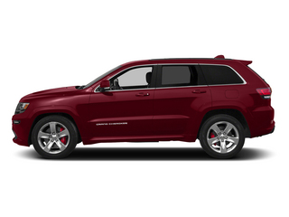 Deep Cherry Red Crystal Pearlcoat 2015 Jeep Grand Cherokee Pictures Grand Cherokee Utility 4D SRT-8 4WD photos side view