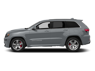 Billet Silver Metallic Clearcoat 2015 Jeep Grand Cherokee Pictures Grand Cherokee Utility 4D SRT-8 4WD photos side view