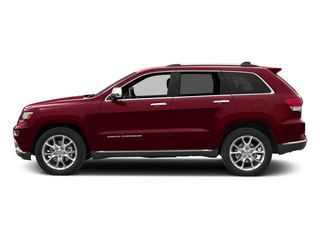 Deep Cherry Red Crystal Pearlcoat 2015 Jeep Grand Cherokee Pictures Grand Cherokee Utility 4D Summit Diesel 4WD photos side view