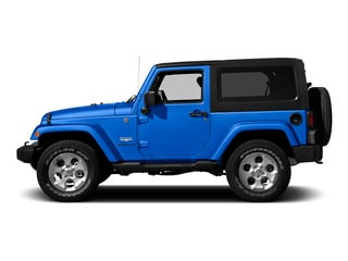 Hydro Blue Pearl Coat 2015 Jeep Wrangler Pictures Wrangler Utility 2D Sahara 4WD V6 photos side view