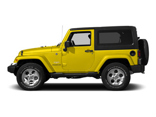 Baja Yellow Clearcoat 2015 Jeep Wrangler Pictures Wrangler Utility 2D Sahara 4WD V6 photos side view