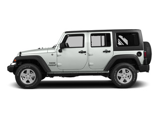 Bright White Clearcoat 2015 Jeep Wrangler Unlimited Pictures Wrangler Unlimited Utility 4D Unlimited Rubicon 4WD V6 photos side view