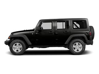 Black Clearcoat 2015 Jeep Wrangler Unlimited Pictures Wrangler Unlimited Utility 4D Unlimited Rubicon 4WD V6 photos side view