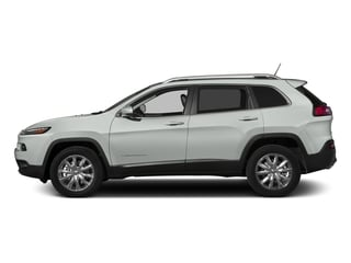 Bright White Clearcoat 2015 Jeep Cherokee Pictures Cherokee Utility 4D Latitude 4WD photos side view