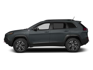 Anvil Clearcoat 2015 Jeep Cherokee Pictures Cherokee Utility 4D Trailhawk 4WD photos side view