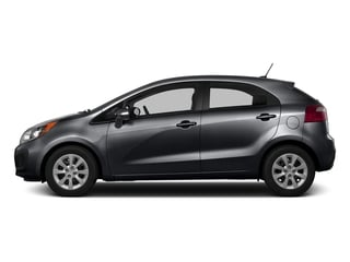 Aurora Black 2015 Kia Rio Pictures Rio Hatchback 5D LX I4 photos side view