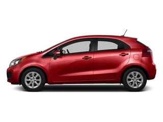 Signal Red 2015 Kia Rio Pictures Rio Hatchback 5D LX I4 photos side view