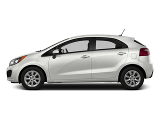 Clear White 2015 Kia Rio Pictures Rio Hatchback 5D LX I4 photos side view