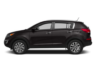 Black Cherry 2015 Kia Sportage Pictures Sportage Utility 4D SX 2WD I4 Turbo photos side view