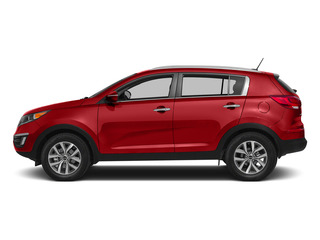 Signal Red 2015 Kia Sportage Pictures Sportage Utility 4D LX 2WD I4 photos side view