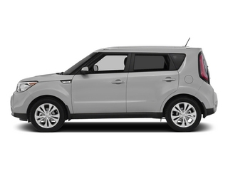 Bright Silver 2015 Kia Soul Pictures Soul Wagon 4D + I4 photos side view