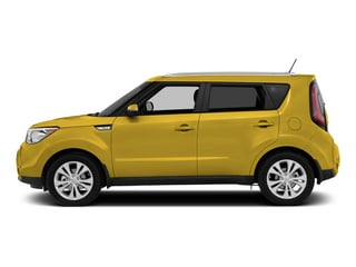 Solar Yellow 2015 Kia Soul Pictures Soul Wagon 4D + I4 photos side view