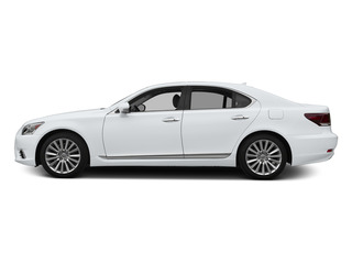 Ultra White 2015 Lexus LS 460 Pictures LS 460 Sedan 4D LS460 V8 photos side view