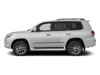 Starfire Pearl 2015 Lexus LX 570 Pictures LX 570 Utility 4D 4WD V8 photos side view
