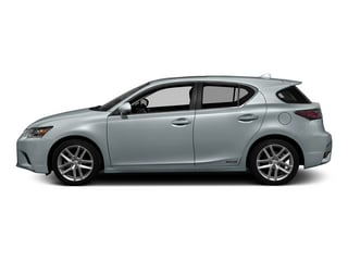 Silver Lining Metallic 2015 Lexus CT 200h Pictures CT 200h Hatchback 5D CT200h I4 Hybrid photos side view
