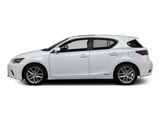 Ultra White w/Black Roof 2015 Lexus CT 200h Pictures CT 200h Hatchback 5D CT200h I4 Hybrid photos side view