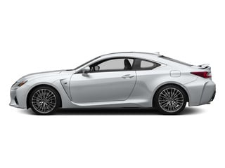 Ultra White 2015 Lexus RC F Pictures RC F Coupe 2D RC-F V8 photos side view