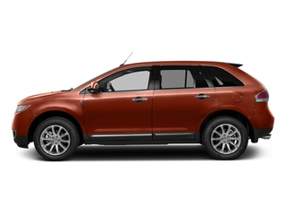 Sunset Metallic 2015 Lincoln MKX Pictures MKX Wagon 4D Elite AWD photos side view