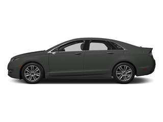 Magnetic Metallic 2015 Lincoln MKZ Pictures MKZ Sedan 4D V6 photos side view