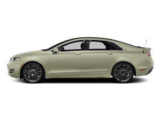 Platinum Dune Metallic Tri-Coat 2015 Lincoln MKZ Pictures MKZ Sedan 4D I4 Hybrid photos side view