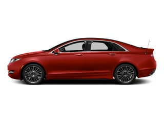Ruby Red Metallic Tinted Clearcoat 2015 Lincoln MKZ Pictures MKZ Sedan 4D I4 Hybrid photos side view