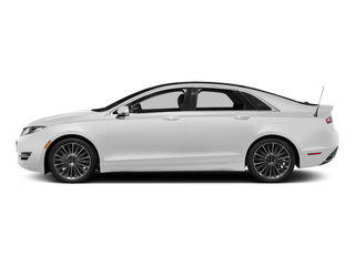 White Platinum Metallic Tri-Coat 2015 Lincoln MKZ Pictures MKZ Sedan 4D I4 Hybrid photos side view