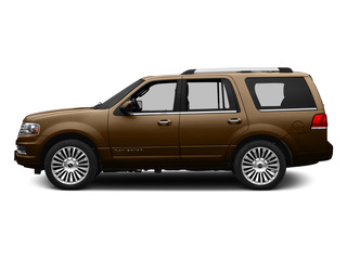 Bronze Fire Metallic 2015 Lincoln Navigator Pictures Navigator Utility 4D Select 2WD V6 Turbo photos side view