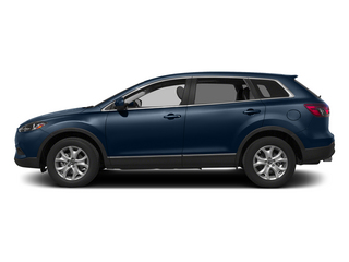 Blue Reflex Mica 2015 Mazda CX-9 Pictures CX-9 Utility 4D Touring 2WD V6 photos side view