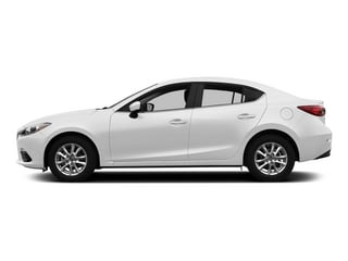 Snowflake White Pearl Mica 2015 Mazda Mazda3 Pictures Mazda3 Sedan 4D i SV I4 photos side view