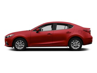 Soul Red Metallic 2015 Mazda Mazda3 Pictures Mazda3 Sedan 4D i SV I4 photos side view