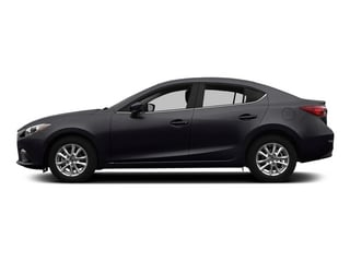 Meteor Gray Mica 2015 Mazda Mazda3 Pictures Mazda3 Sedan 4D s Touring I4 photos side view