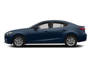 Blue Reflex Mica 2015 Mazda Mazda3 Pictures Mazda3 Sedan 4D s Touring I4 photos side view