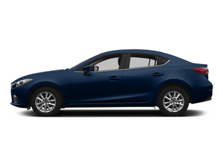 Deep Crystal Blue Mica 2015 Mazda Mazda3 Pictures Mazda3 Sedan 4D i SV I4 photos side view