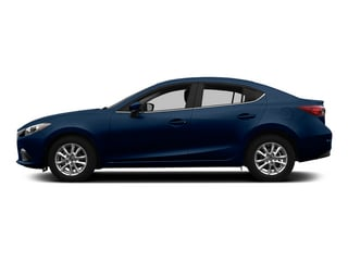 Deep Crystal Blue Mica 2015 Mazda Mazda3 Pictures Mazda3 Sedan 4D i Sport I4 photos side view