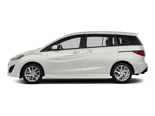 Crystal White Pearl 2015 Mazda Mazda5 Pictures Mazda5 Wagon 5D Sport I4 photos side view
