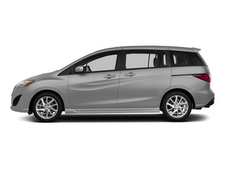 Liquid Silver Metallic 2015 Mazda Mazda5 Pictures Mazda5 Wagon 5D Sport I4 photos side view